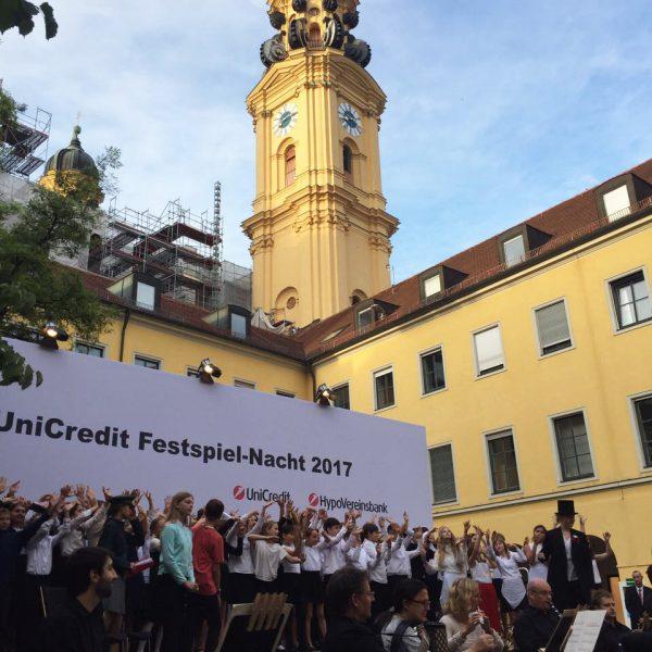 Projektmanagement: UniCredit Festspiel-Nacht 2017, 12.000 Besucher | Agenturleistung für UniCredit München