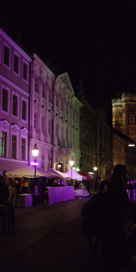 UniCredit Festspiel-Nacht: Die Kardinal-Faulhaber-Straße wird jedes Jahr illuminiert