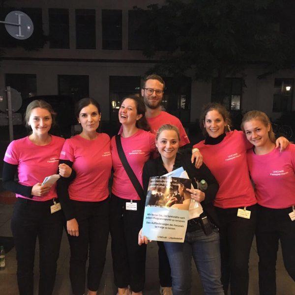 UniCredit Festspiel-Nacht 2017: 12 Spielstättelneiter und mehr als 50 Hostessen sind im Einsatz