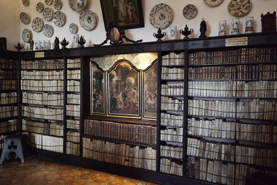 Museumsbesuch, Bibliothek, Chopin, George Sand, Mallorca