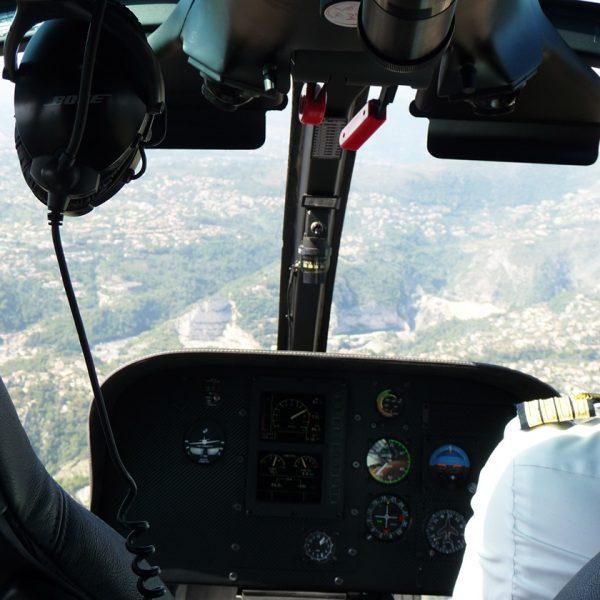 Rahmenprogramm Helikopterflug