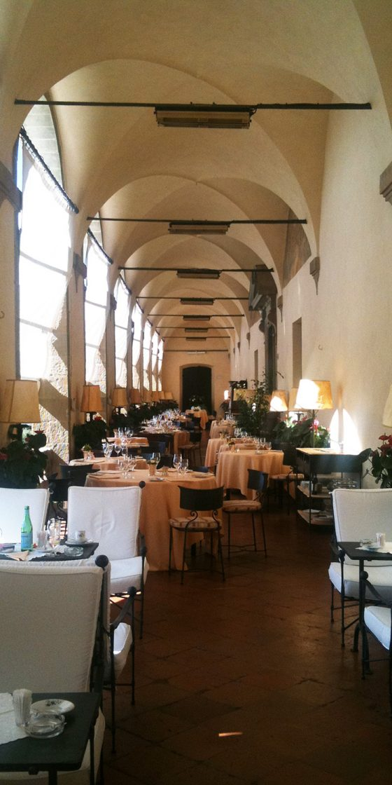 Abendveranstaltung, Orangerie, Fiesole, Italien