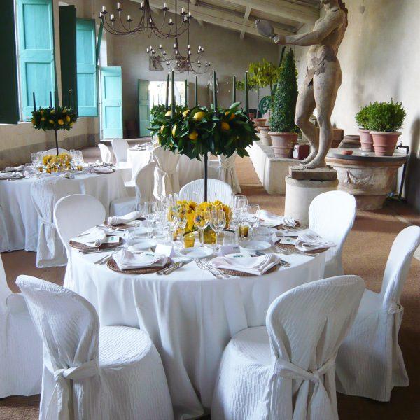 Eventkonzept: Abendveranstaltung, Orangerie, Fiesole, Italien