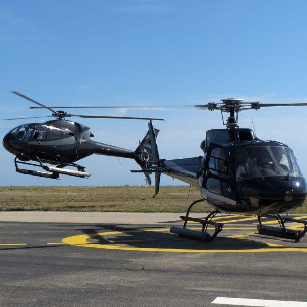 Beratung: Passt ein Transfer mit dem Hubschrauber zur Corporate Identity?