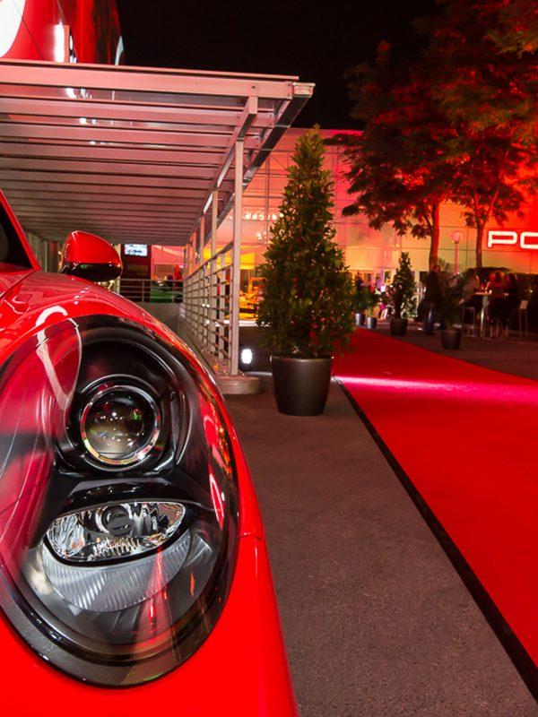 Porsche Sommerfest wurde organisiert von die Moog.
