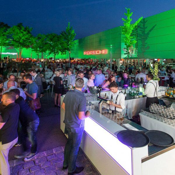 Projektmanagement: Porsche Sommerfest, 800 geladene Gäste | Agenturleistung für Barcode Werbeagentur München
