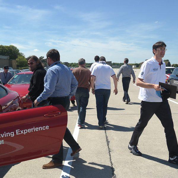 Projektmanagement: Tagung mit BMW Driving Experience, 80 Mitarbeiter | Agenturleistung für WASCOSA AG Schweiz